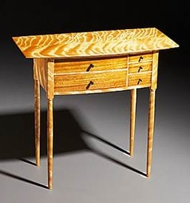 flame birch table